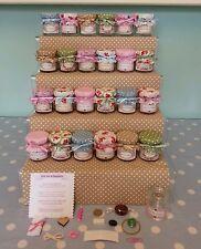 Vintage Little pot of happiness mini jar wedding favour novelty gift present