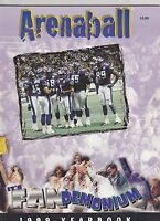 1999 MILWAUKEE MUSTANGS arena football yearbook