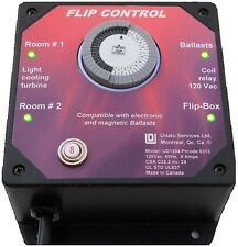 Ballast Flip Control can control a Flip Box for Electronics or Magentics ballast