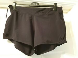 Excellent condition Crane black shorts size 16 - 18