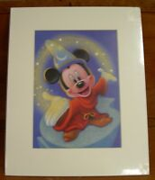 "Mickey Mouse Lithograph Poster 10"" x 14"" NEW - See Descritption"