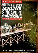 King & Country Leaflet Fall of Malaya Singapore Hong Kong1941-1942 12 Pages 2016