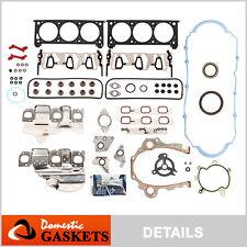 Fit 06-11 Buick Chevrolet Pontiac Saturn 3.5L 3.9L Ohv Full Gasket Set