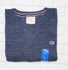 Authentic Champion Mens Navy Crew Neck Sweatshirt