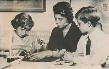Prince Carl Gustaf - Princesses Margaretha et Christina 1955 - Suède - PR 1170