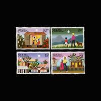 St Kitts, Sc #127-30, MNH, 1983, Christmas, Holiday, AR5FDI-C