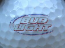 (1) BUD LIGHT BEER  ALCOHOL LOGO GOLF BALL