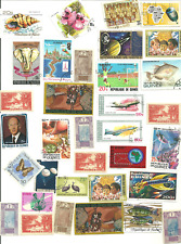 34  Different Stamps from Guinea