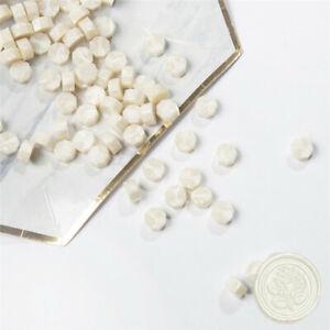 20Pcs white Retro Stamping Sealing Beads Wax Stamps Envelopes Party Invitation