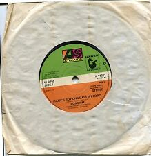 45 RPM Record - Boney M - Mary's Boy Child / Oh My Lord / Dancing In The Streets