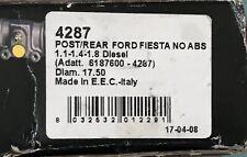 FORD FIESTA mk3 1.0 1.1 1.3 1.4 1.6 1.8D  89-94 REAR WHEEL CYLINDERS