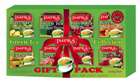 Impra Flavored Green Tea Collection Count x 80 Tea Bags 160 g Gift pack