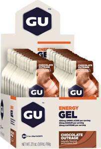GU Energy Gel: Chocolate Outrage Box of 24