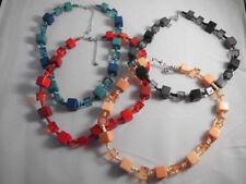 Modeschmuck-Halsketten & -Anhänger mit Türkis-Perlen für Damen