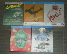 Hitchcock collection (5 Blu-rays) steelbook. NEW & SEALED. UK release.