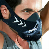 6 Lvl Mask Workout Fitness Running High Altitude Gym Training Sport Breathing