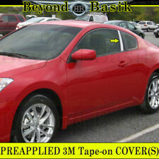 Fits 2008 2009 2010 2011 2012 Altima Coupe Chrome STAINLESS STEEL Pillar Posts