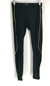 PERFORMANCE - WOMEN'S SIZE SMALL - BLACK FLEECE LINED CYCLING PANTS