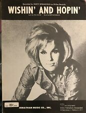 Dusty Springfield Wishin' and Hopin' Bert Bacharach 1963 Excellent Condition