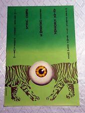 ** DERSU UZALA ** 1SH Original Polish Poster Akira Kurosawa