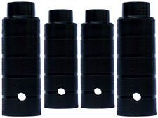 4 x BMX Pegs für 10 mm Achsen schwarz 38 x 110 mm