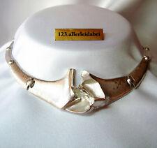 Wundervolles Lapponia Collier 925 Silber Modernist Kette 1989  / BT 214