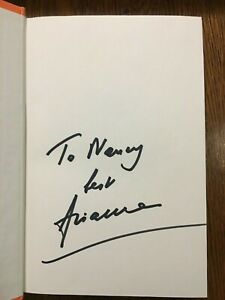 SIGNED & INSCRIBED Arianna Huffington - Thrive (2014, Hardcover) 1st Edition