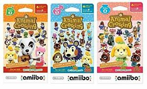 Nintendo Animal Crossing amiibo Cards Series 2, 3, 4 for Nintendo Wii U and 3DS,