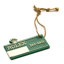 Day-Date Green Vintage Used ip047 Auth Rolex Hang tag for
