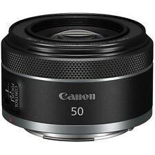 New CANON RF50mm f/1.8 STM Lens for Mirrorless Digital Camera