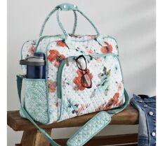 The Pioneer Woman Quilted Fabric Weekender Bag, Vintage Bloom