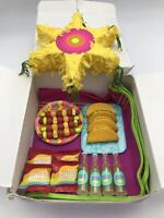 American Girl Doll Fiesta Picnic Set In Great Used Condition Retired Doll Food