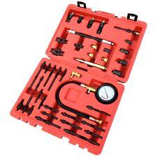 Engine Compression Test Kit Petrol & Diesel Glow Spark & Injector Adaptors
