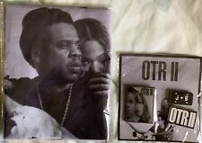 Brand New Beyonce Jay Z On The Run 2 Otr Ii Vip Collectible Pins And Wall Flag