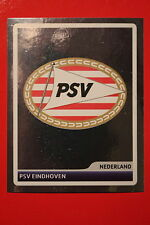 PANINI CHAMPIONS LEAGUE 2006/07 # 192 PSV EINDHOVEN BADGE BLACK BACK MINT!