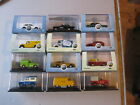 12 Oxford Diecast Vehicles in 1:76 scale.