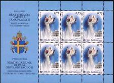 Vatikan 2011 KB Klbg Kleinbogen Nr.1699 ** postfrisch Seligsprechung
