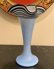 Kralik Czechoslovakia Art Glass Vase
