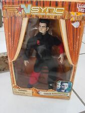 Living Toyz Nsync Collectibles Marionette Chris Kirkpatrick Figure 2000 new