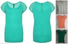 Figurbetonte Damen-Shirts ohne Muster für die Freizeit