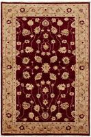 """Hand-knotted Afghan Carpet 3'2"""" x 5'2"""" Chobi Finest Traditional Wool Rug"""