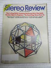 STEREO REVIEW MAGAZINE MAY 1977 AIWA AD-6500 DYNACO 300 AMP SCOTT R336