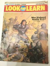 Vintage Look & Learn Comic Issue 592 May 1973