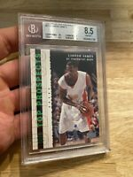 LeBron James Rookie BGS 8.5 Top Prospects Power Card #60 HIGH END St. Vincent NR