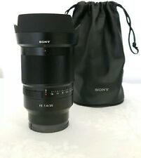 Sony  FE 35mm f/1.4 ZA Lens in excellent condition
