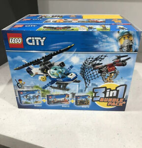 Lego City 3 in 1 Bundle Pack  60207, 60213, 60219  New + Sealed