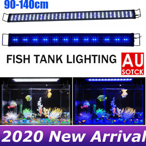 90-140CM Aquarium LED Lighting 3ft/4ft Marine Aqua Fish Tank Light Lamp AU STOCK