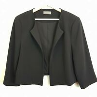 [ JACQUI.E ] Womens Black Jacket  | Size AU 14 or US 10