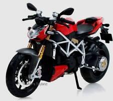 Maisto moto Ducati Streetfighter s rojo - 1:12 - nuevo en caja original