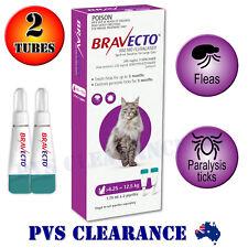 Bravecto Spot On for Large Cats - Purple 6.25-12.5 kg - Spot-on Flea & Tick